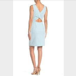 Betsey Johnson Cutout Back Scuba Crepe Dress,  8